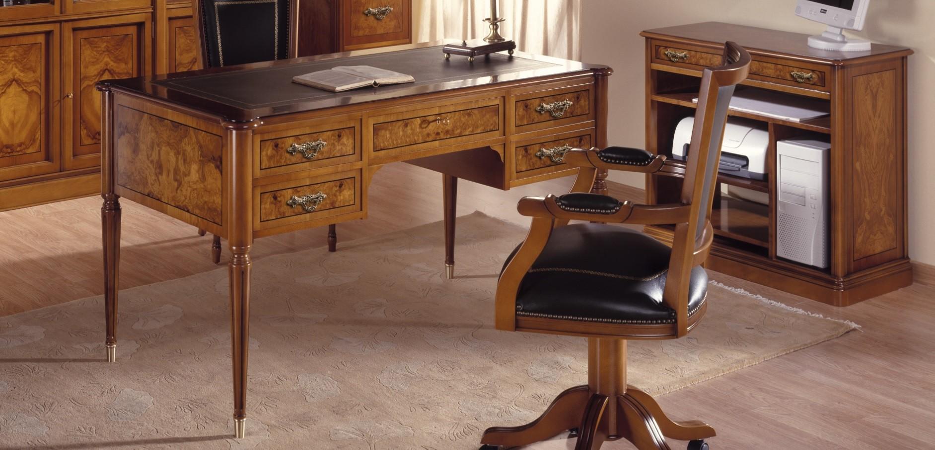 Mesas de despacho cl sicas espacios de trabajo acogedores for Muebles para despacho