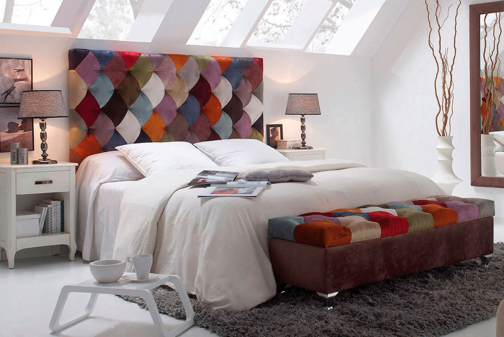 El patchwork como técnica decorativa / Blog de muebles y decoración ...