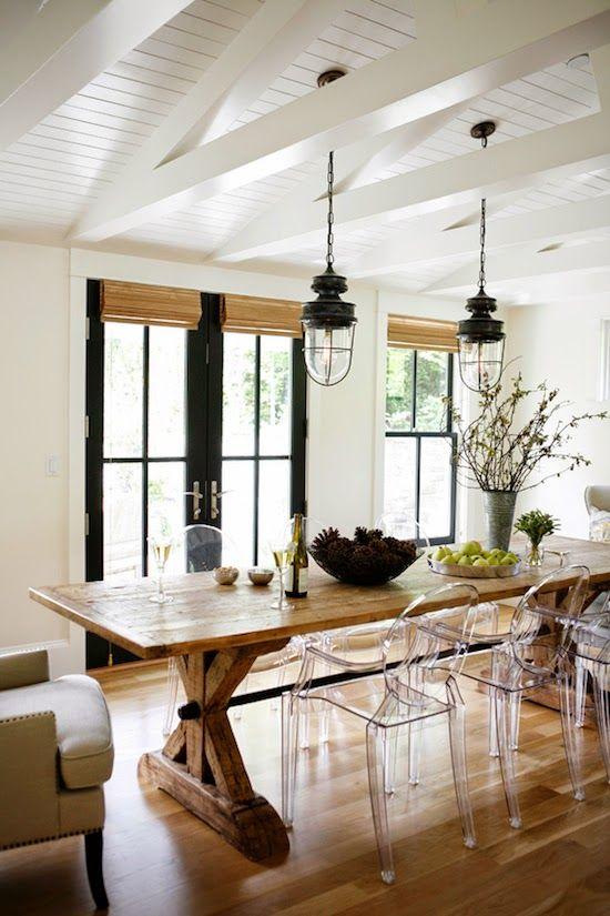 Decoración rústica para casas rurales y chalets / Blog de muebles y ...