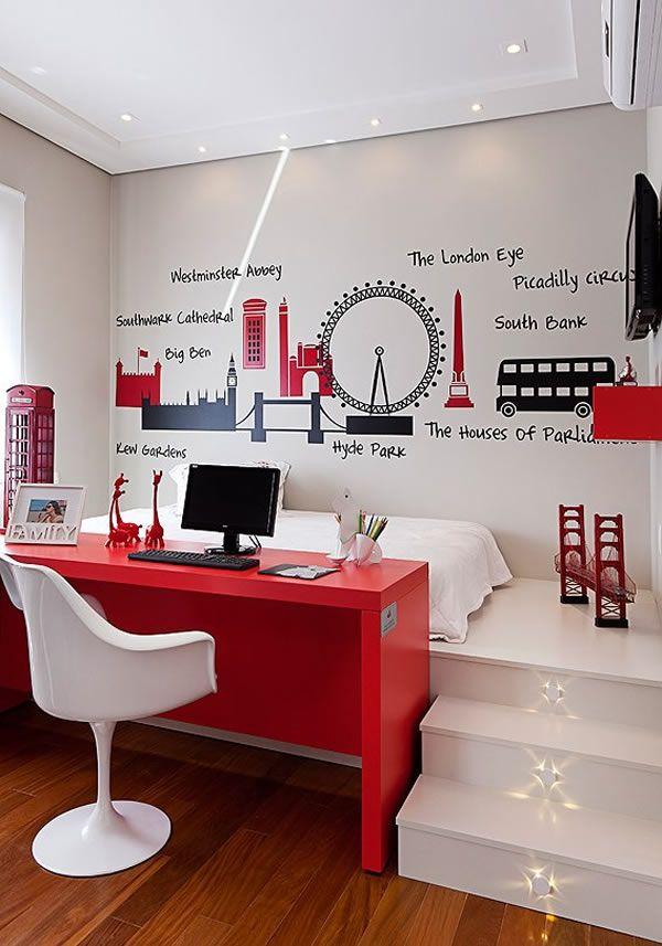 10 Claves Para Decorar Habitaciones Juveniles Blog De Muebles Y - Decorar-una-habitacion-juvenil