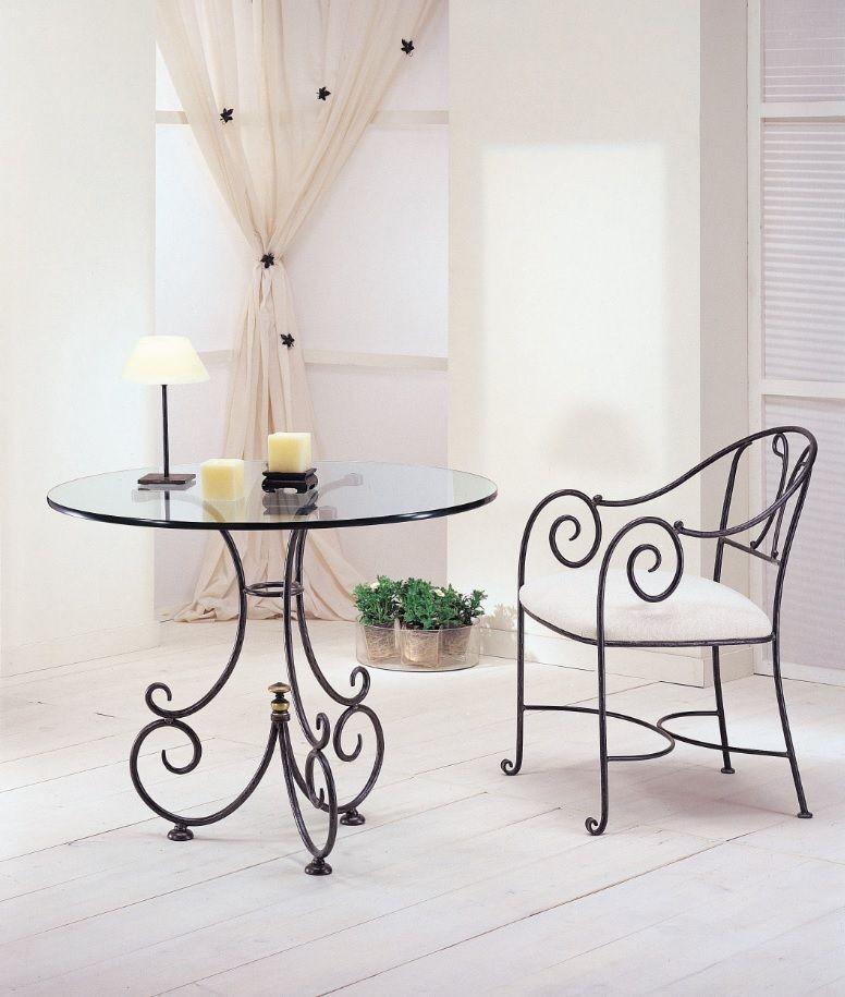 Consejos para recuperar un mueble de hierro forjado blog for Comedor hierro forjado