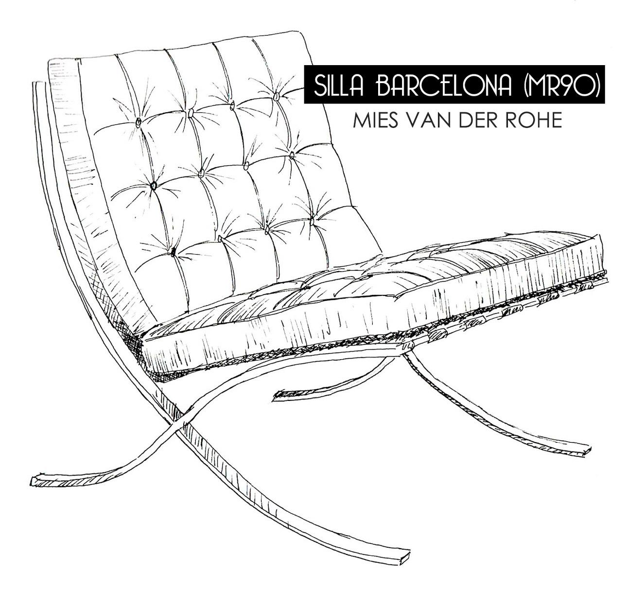 Muebles fetiche que no pasan de moda la silla barcelona de mies van der rohe blog de muebles - Silla barcelona mies van der rohe ...