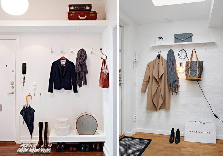 C mo decorar un recibidor para que sea funcional y - Percheros para recibidores ...