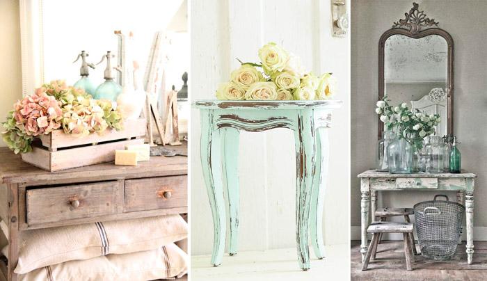 Por qu adoramos los muebles y la decoraci n de estilo - Muebles estilo romantico ...