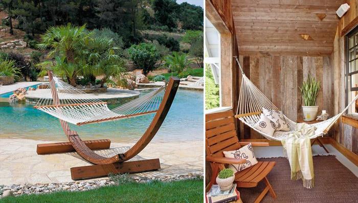 La comodidad llega a tu terraza a bordo de tumbonas y hamacas ...