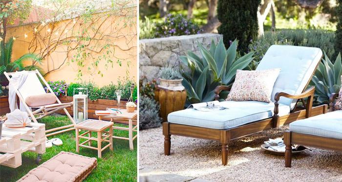 La comodidad llega a tu terraza a bordo de tumbonas y for Mobiliario piscina