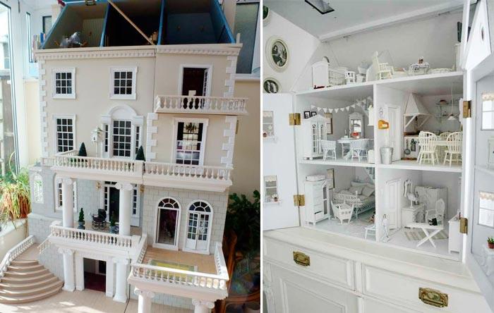 Nueva colecci n de camas infantiles inspiradas en casas de mu ecas blog de muebles y - Decoracion de casas de munecas ...