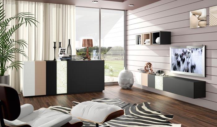 Colecci n samara muebles de dise o innovadores para tu - Muebles salon diseno ...
