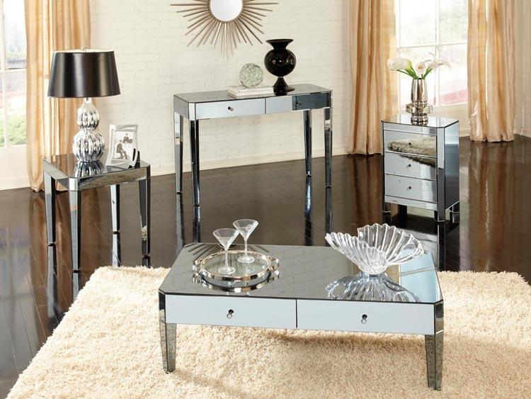 Haz brillar la decoración de tu hogar con elegantes muebles espejo / Ámbar Mu...