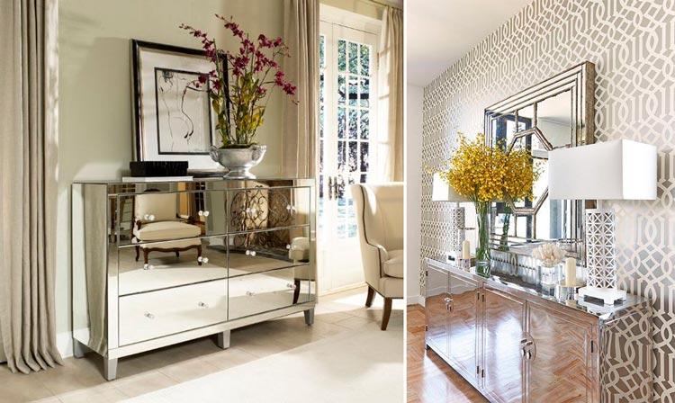 Haz brillar la decoración de tu hogar con elegantes muebles espejo ...