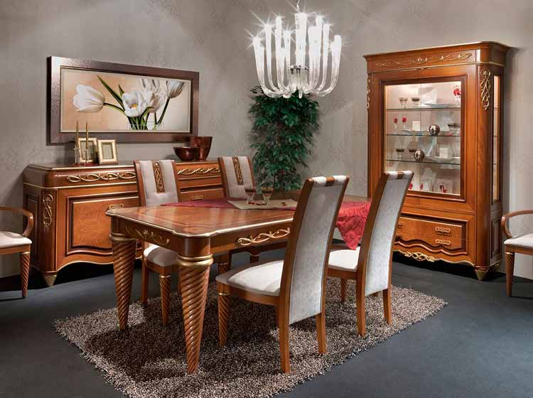 Comedores Clasicos De Lujo Great Muebles De Comedor