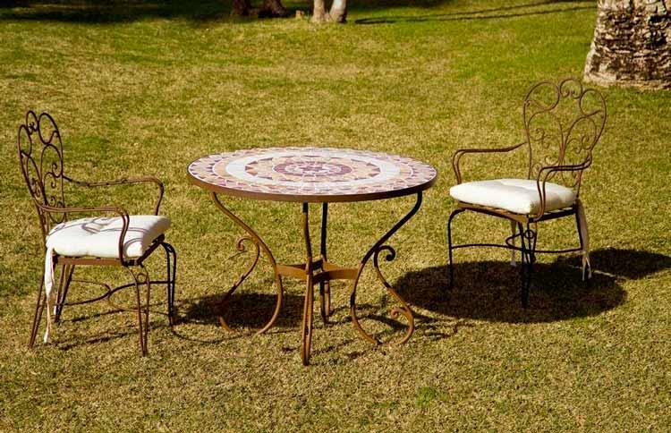 Nueva colecci n de muebles de jard n de forja blog de for Muebles jardin ikea 2016