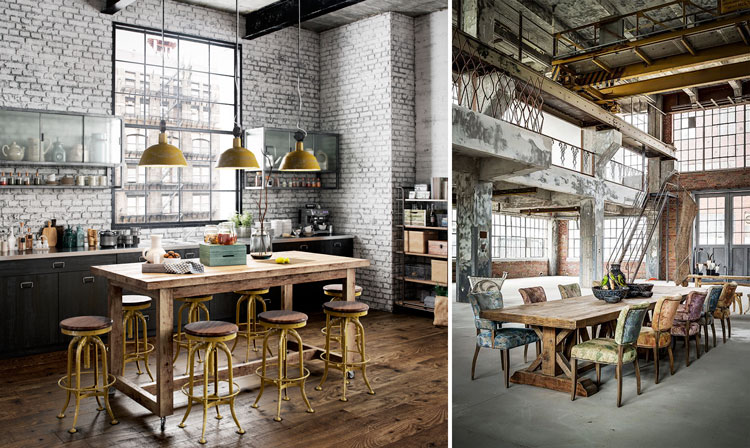 El Estilo Industrial En Los Muebles Y La Decoraci N De