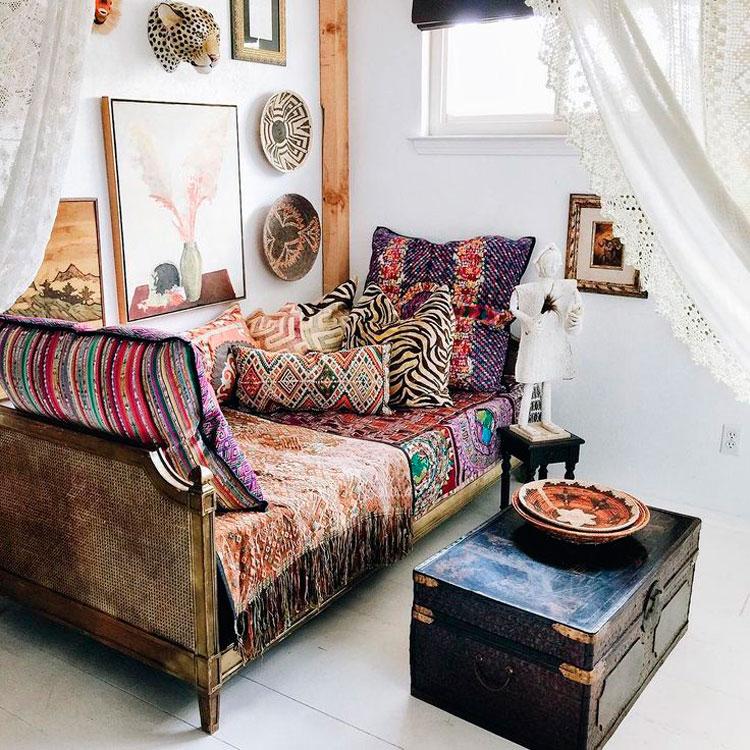 Decora tus interiores con ba les blog de muebles y - Baules para decorar ...
