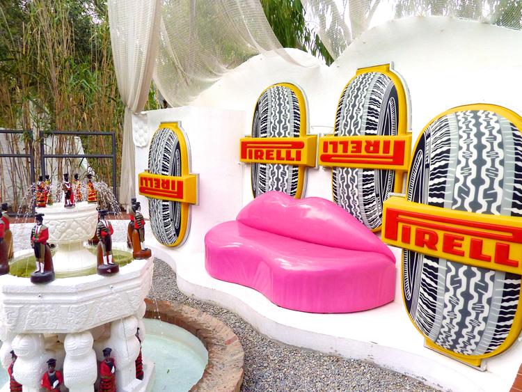 El 39 sof labios 39 de dal arte y sensualidad blog de muebles y decoraci n de mbar muebles - Casa rural en cadaques ...