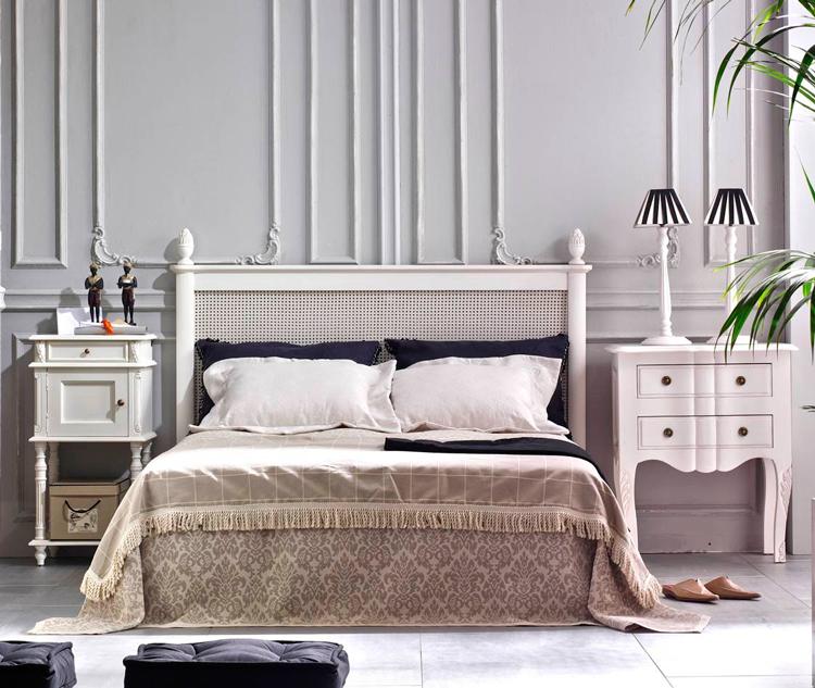 C mo crear un dormitorio rom ntico con cabeceros de for Como modernizar un dormitorio clasico