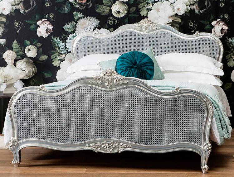 Cabeceros de cama romanticos trendy cabecero cama - Cabeceros de rejilla ...