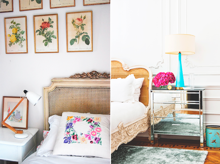 C mo crear un dormitorio rom ntico con cabeceros de rejilla blog de muebles y decoraci n de - Muebles romanticos ...