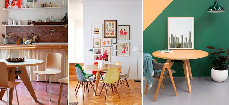 Razones para escoger una mesa redonda para tu comedor / Blog ...