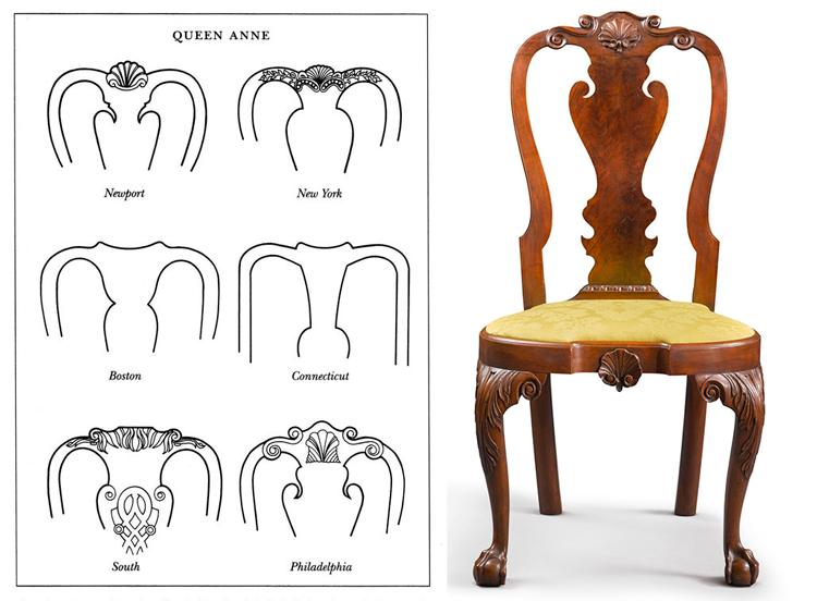 La Silla Reina Ana, un icono del mobiliario clásico inglés / Blog de ...