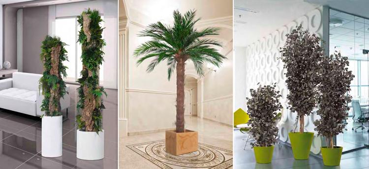 Decora los interiores de tu hogar con flores y plantas - Muebles para plantas ...