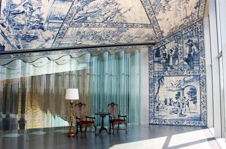 Muebles y decoraci n de inspiraci n portuguesa tradicional - Casa de la musica oporto ...