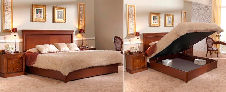 Aumenta el almacenamiento de tu dormitorio con canapés abatibles ...