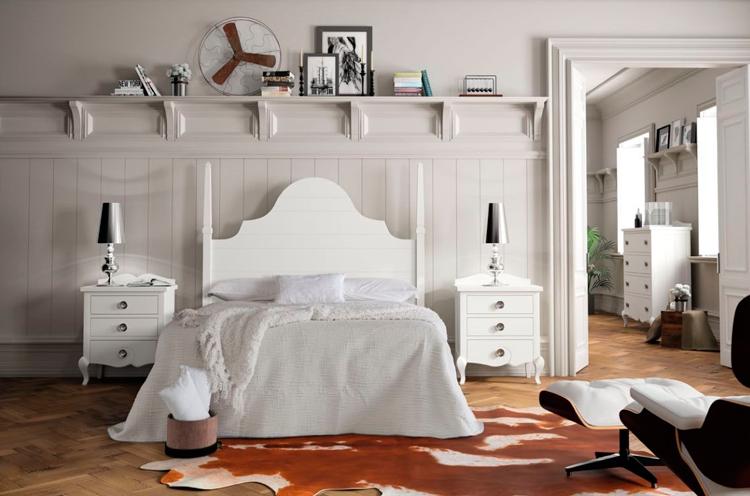 Cabeceros y camas con balaustres para dormitorios vintage o clásicos ...
