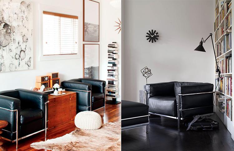 Le corbusier y sus muebles de dise o vanguardista para el for Le corbusier muebles