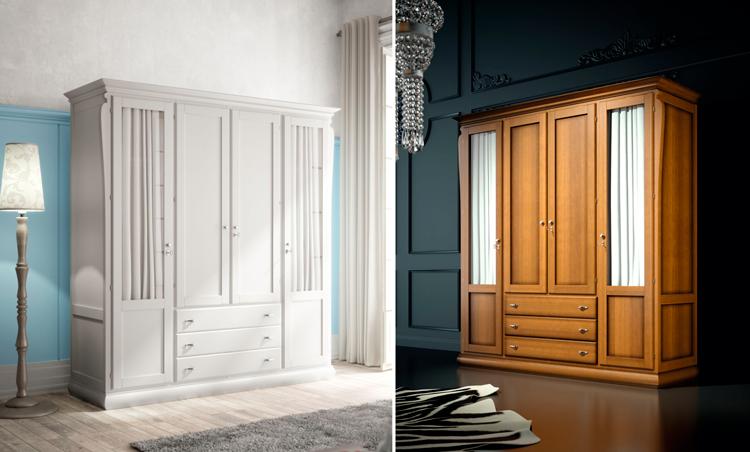 El armario con visillos ideal para ambientes vintage y for Visillos dormitorio