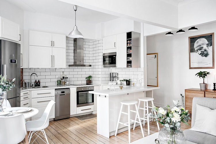 Ideas de decoración para cocinas de concepto abierto / Blog de ...