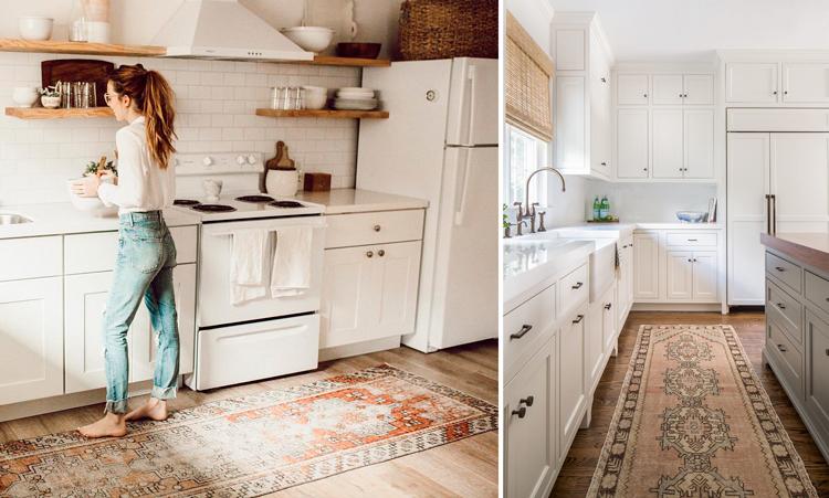 Alfombras de cocina, una idea de decoración elegante, segura y ...